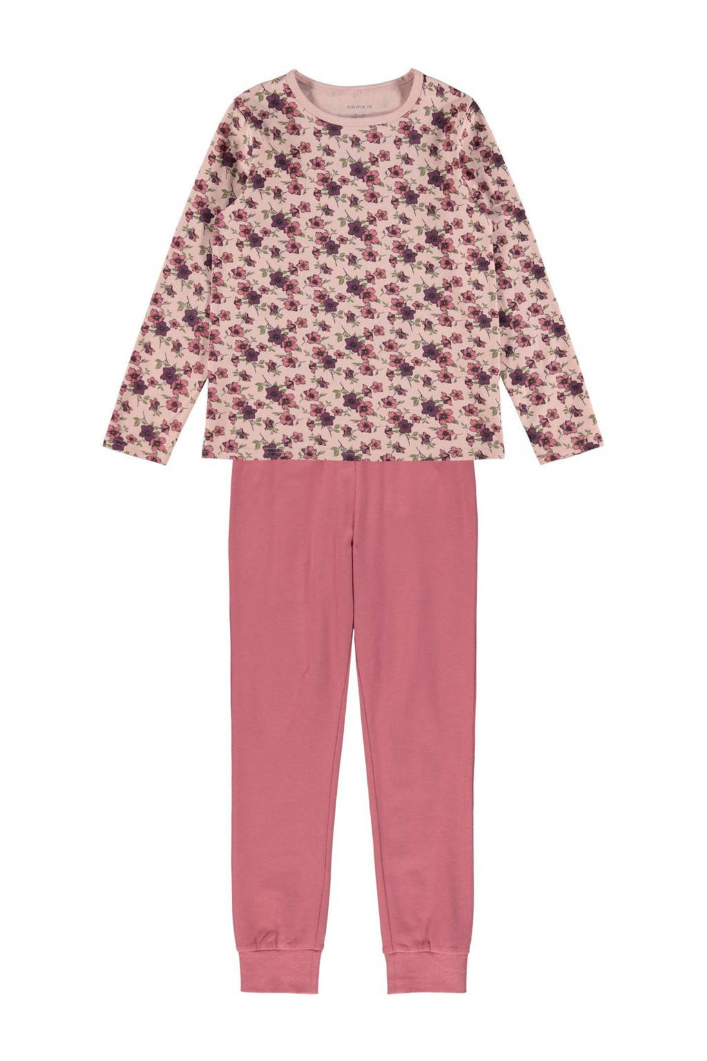 NAME IT KIDS pyjama roze/lichtroze, Roze/lichtroze