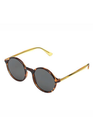 zonnebril Madison donkerbruin/geel