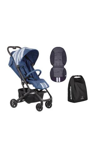 MINI buggy XS Blue Jack + gratis Summer inlay en transporttas