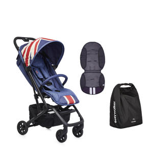 MINI buggy XS Union Jack Vintage + gratis Summer inlay en transporttas
