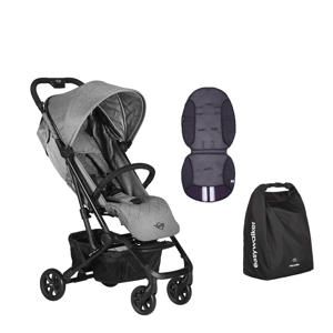 MINI buggy XS Soho Grey + gratis Summer inlay en transporttas