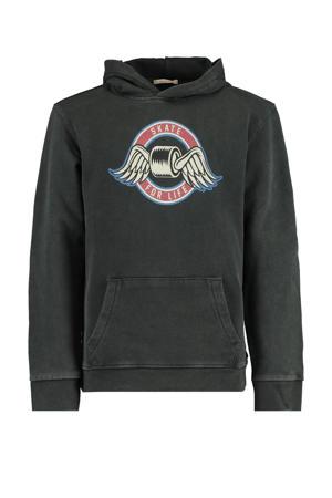 hoodie Shawn met printopdruk washed black