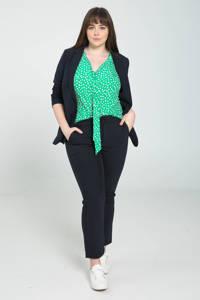 PROMISS top met all over print groen, Groen