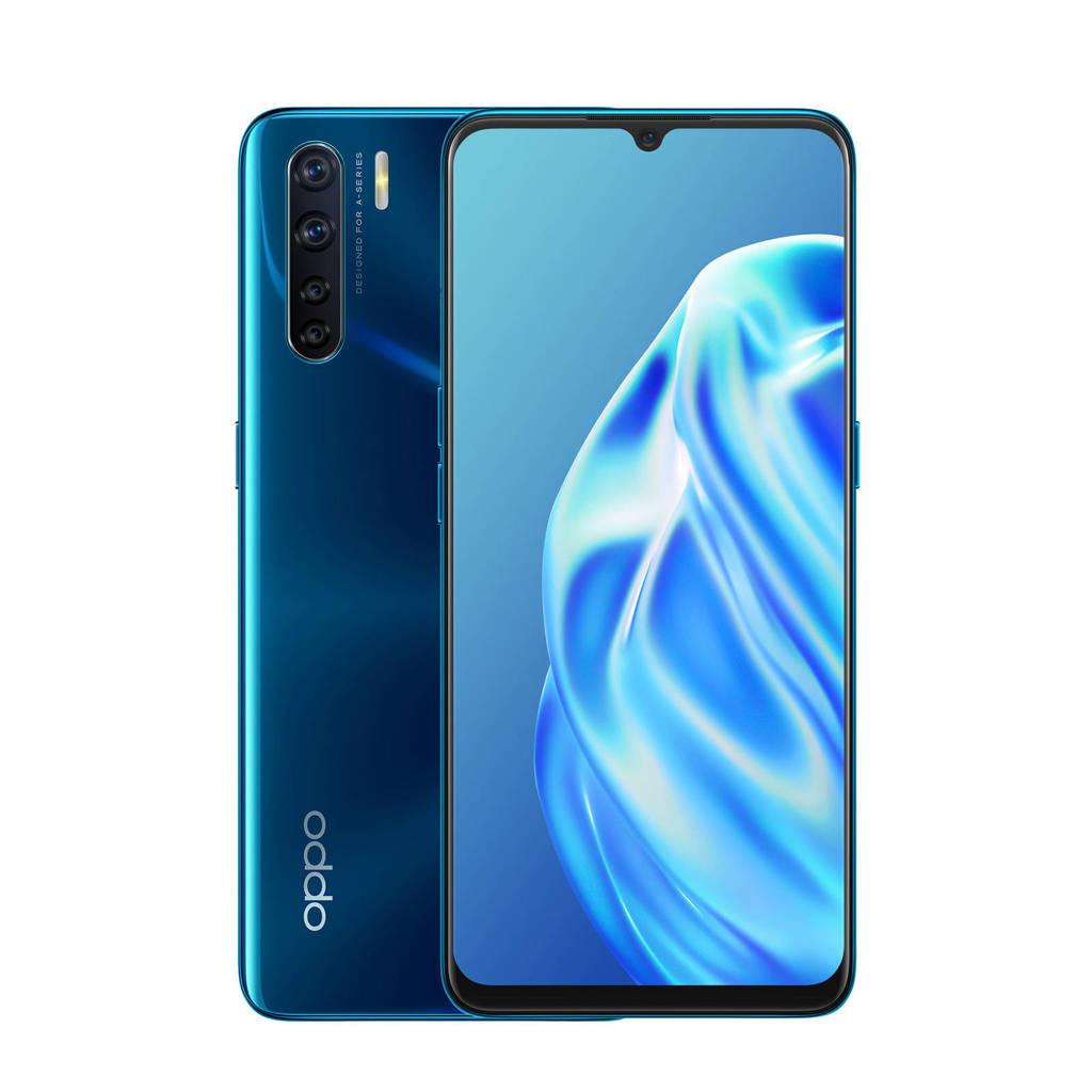 OPPO A91 128GB smartphone (blauw), Blauw
