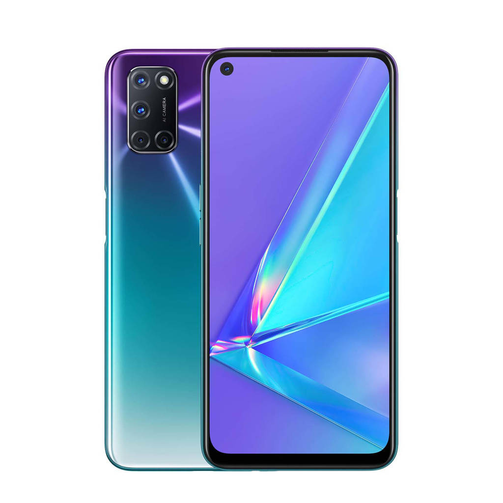 OPPO A72 128GB smartphone (paars), Paars