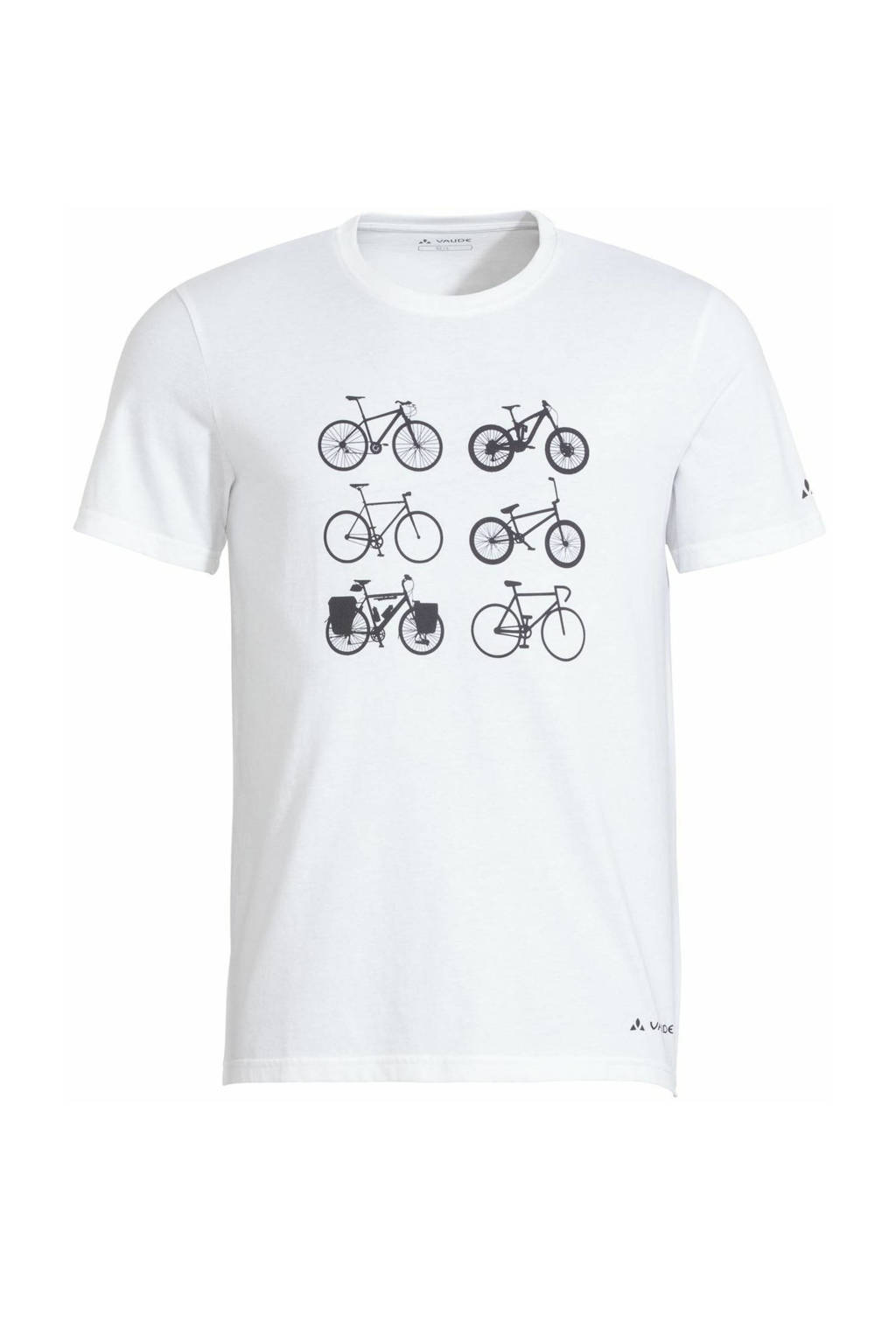 VAUDE outdoor T-shirt Cyclist V wit, Wit