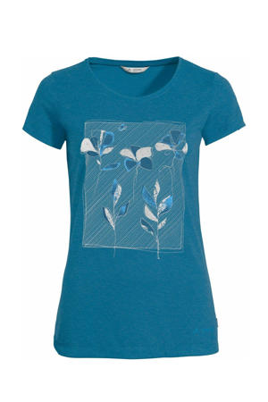 outdoor T-shirt Skomer blauw