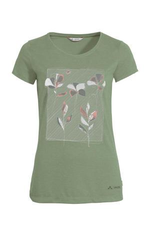 outdoor T-shirt Skomer groen