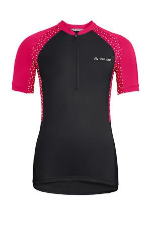 fiets T-shirt Advanced Tricot IV zwart/roze