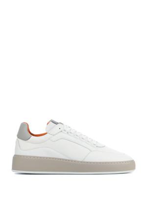 Jiro Jade  leren sneakers wit