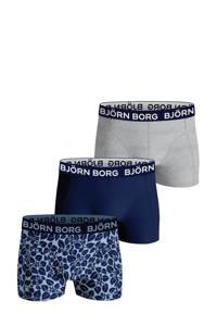 Björn Borg   boxershort Core Boxer - set van 2 donkerblauw/grijs, Donkerblauw/grijs melange