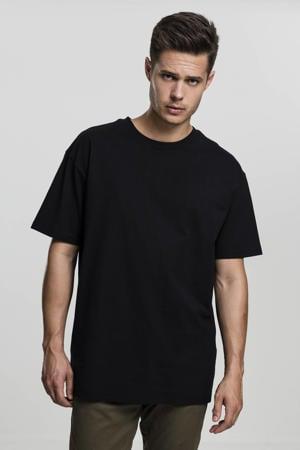 oversized T-shirt zwart