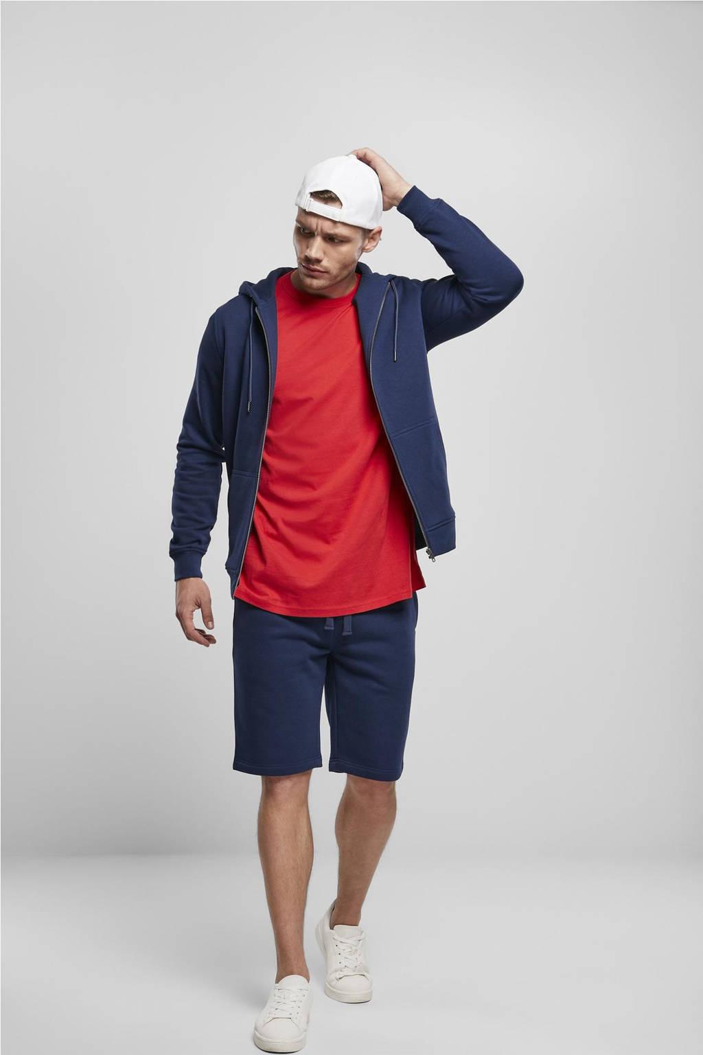Urban Classics regular fit sweatshort donkerblauw, Donkerblauw