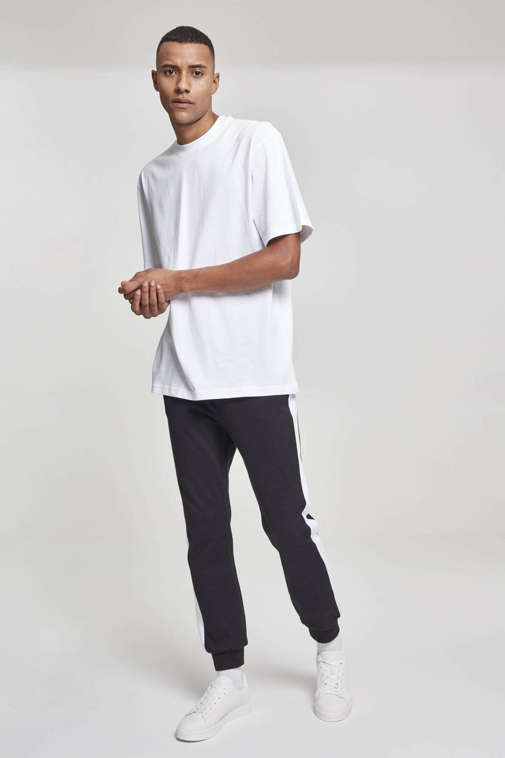 Urban Classics oversized T-shirt wit, Wit