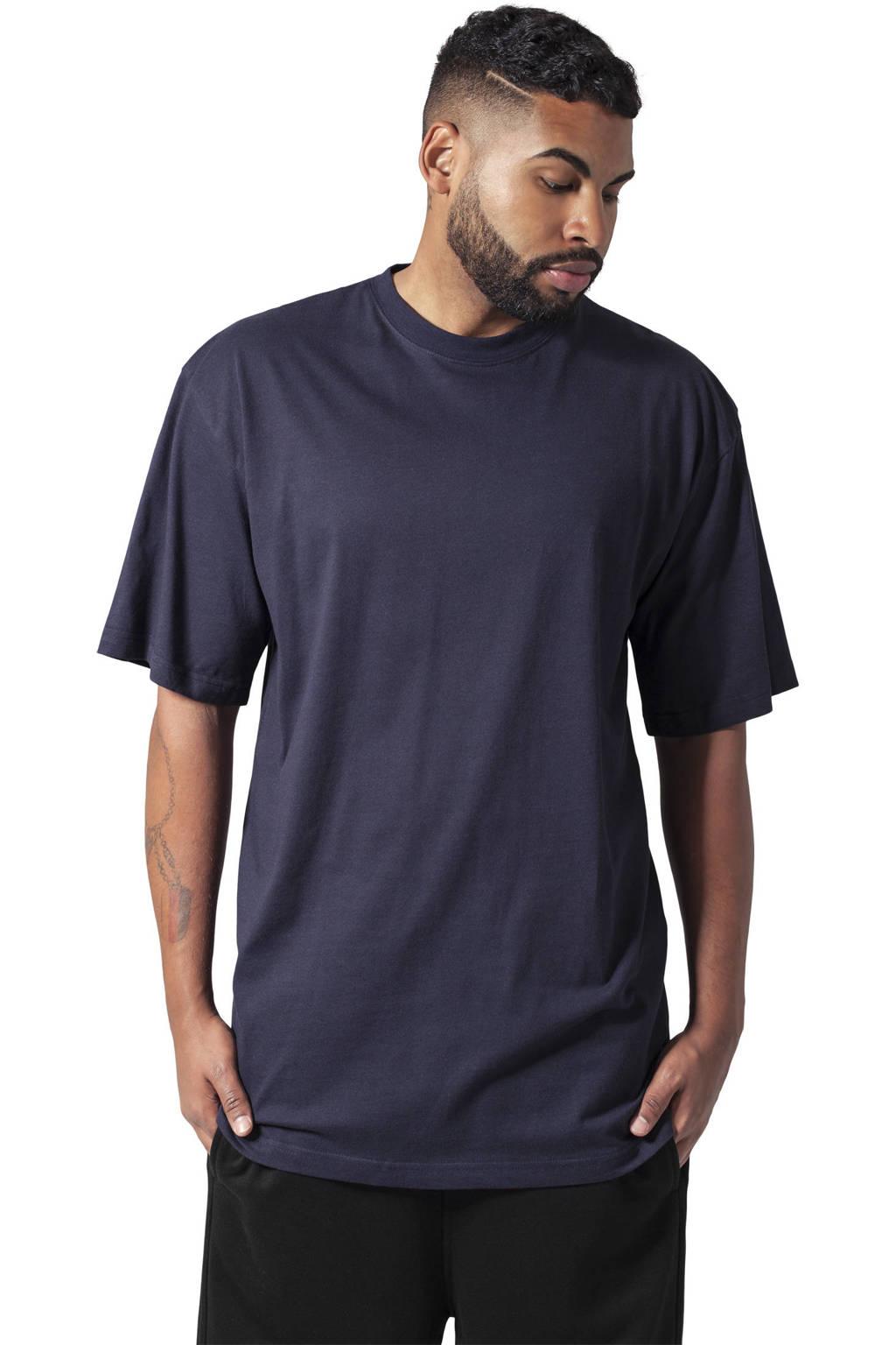 Urban Classics oversized T-shirt donkerblauw, Donkerblauw