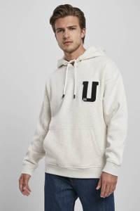 Urban Classics gemêleerde hoodie ecru, Ecru