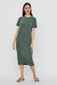 AWARE by VERO MODA jurk VMGAVA SS DRESS VMA NOOS groen, Groen