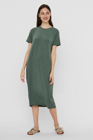 jurk VMGAVA SS DRESS VMA NOOS groen