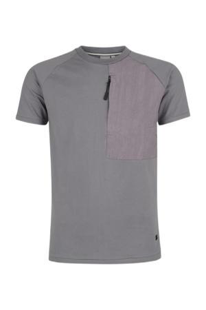 T-shirt Tibo grijs