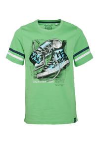 C&A Skate Nation T-shirt van biologisch katoen groen, Groen