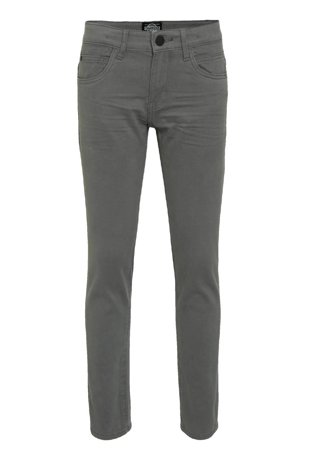 C&A Skate Nation skinny jeans grijs, Grijs