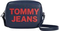 Tommy Hilfiger  crossbody tas donkerblauw/rood, Donkerblauw/rood