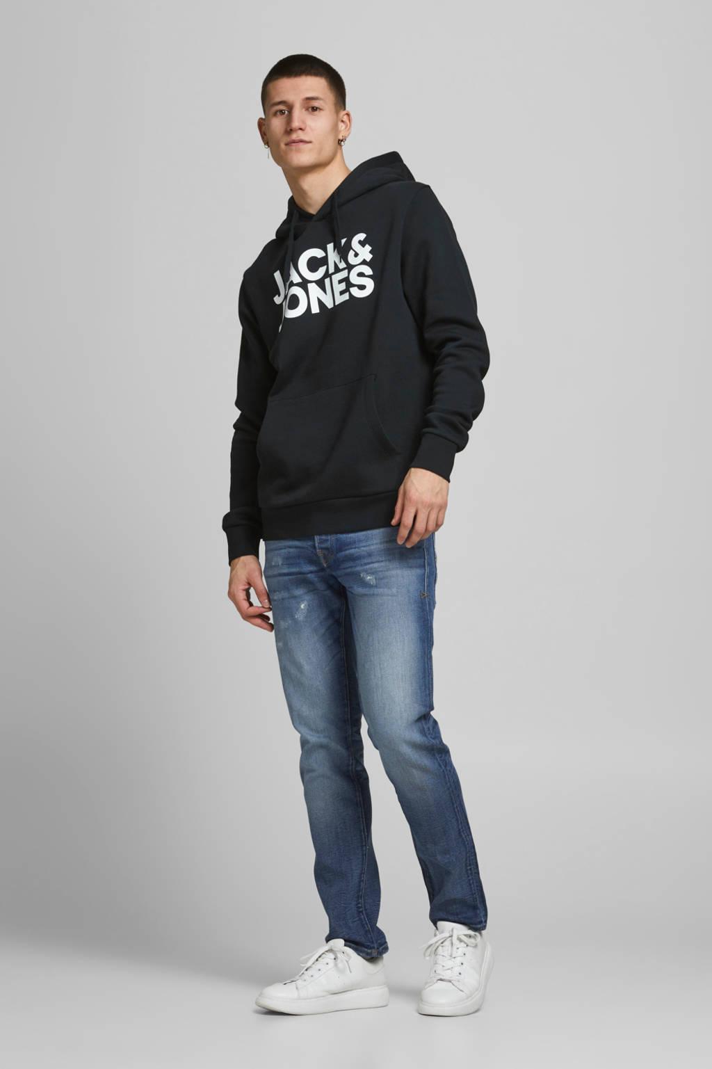 JACK & JONES ESSENTIALS hoodie Corp (set van 2) donkerblauw/zwart, Donkerblauw/zwart