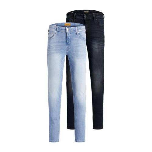 JACK & JONES JEANS INTELLIGENCE skinny jeans Liam Original (set van 2)