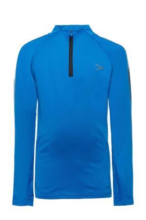 Junior  sport T-shirt blauw