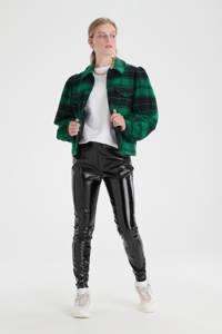 Shoeby Eksept geruite flanellen shacket groen/zwart, Groen/zwart