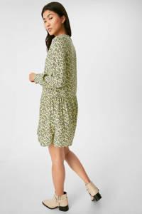 C&A Yessica gebloemde jurk groen, Groen