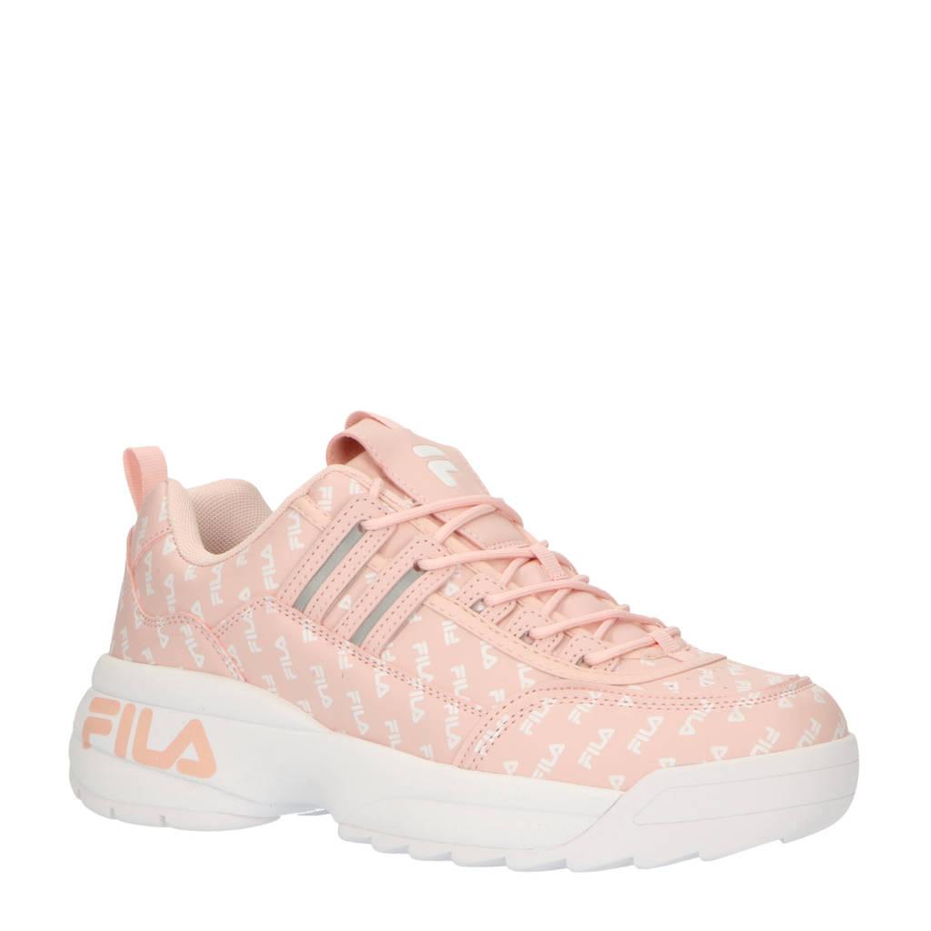 Fila   sneakers lichtroze, Roze/wit