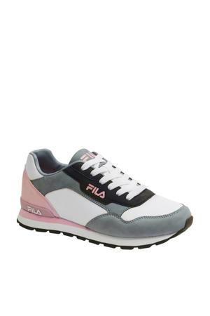 sneakers wit/roze/grijs
