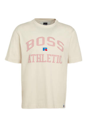 BOSS x Russell Athletic T-shirt beige
