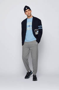 BOSS Menswear BOSS x Russell Athletic T-shirt met logo lichtblauw, Lichtblauw