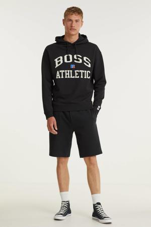 BOSS x Russell Athletic hoodie Safa met logo zwart