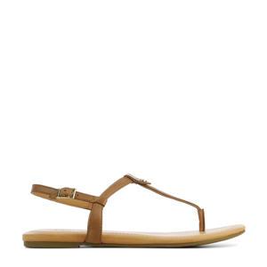 Madeena 1117959 leren sandalen bruin