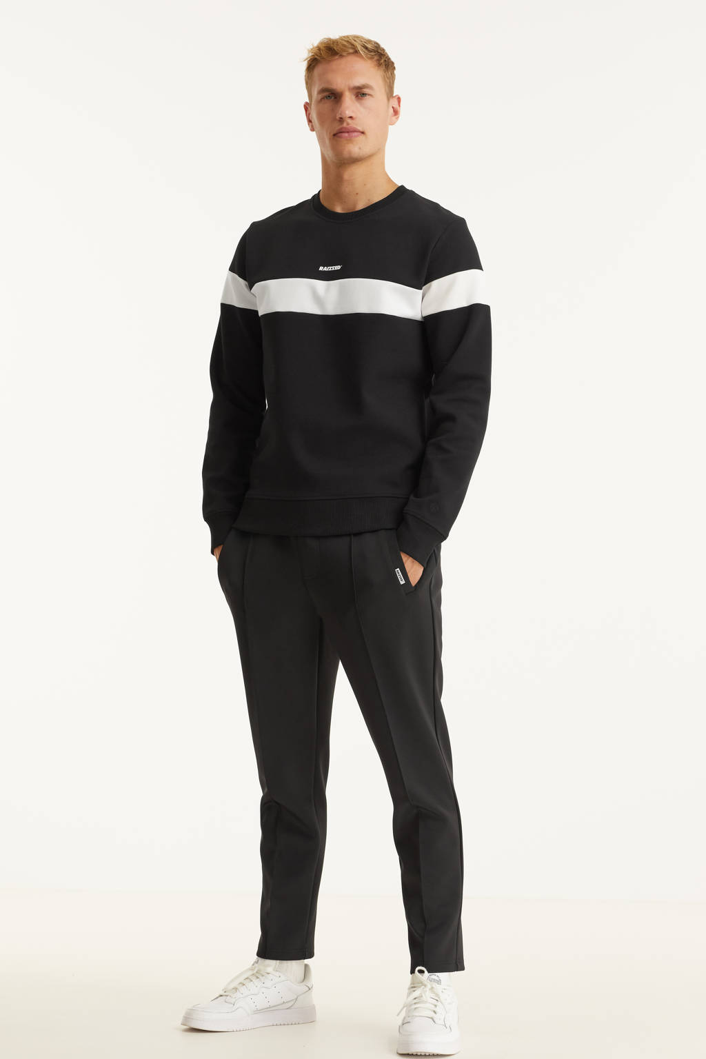 Raizzed sweater New York zwart, Zwart