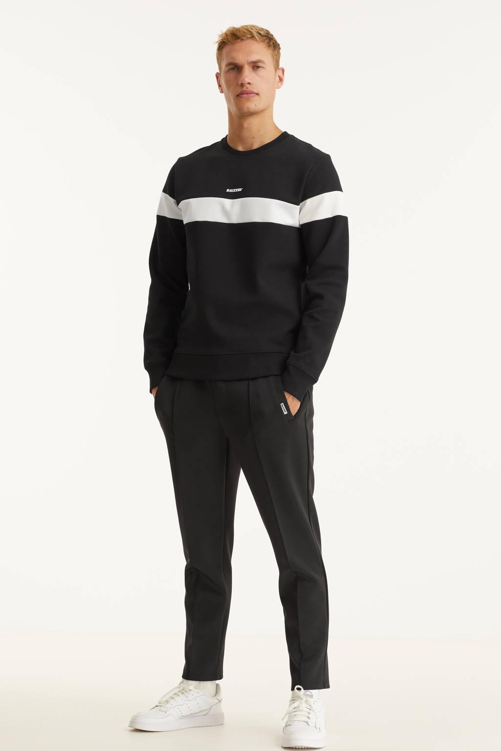 Raizzed regular fit broek Salvador zwart, Zwart