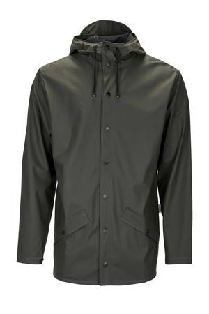 1201 Jacket regenjas donkergroen