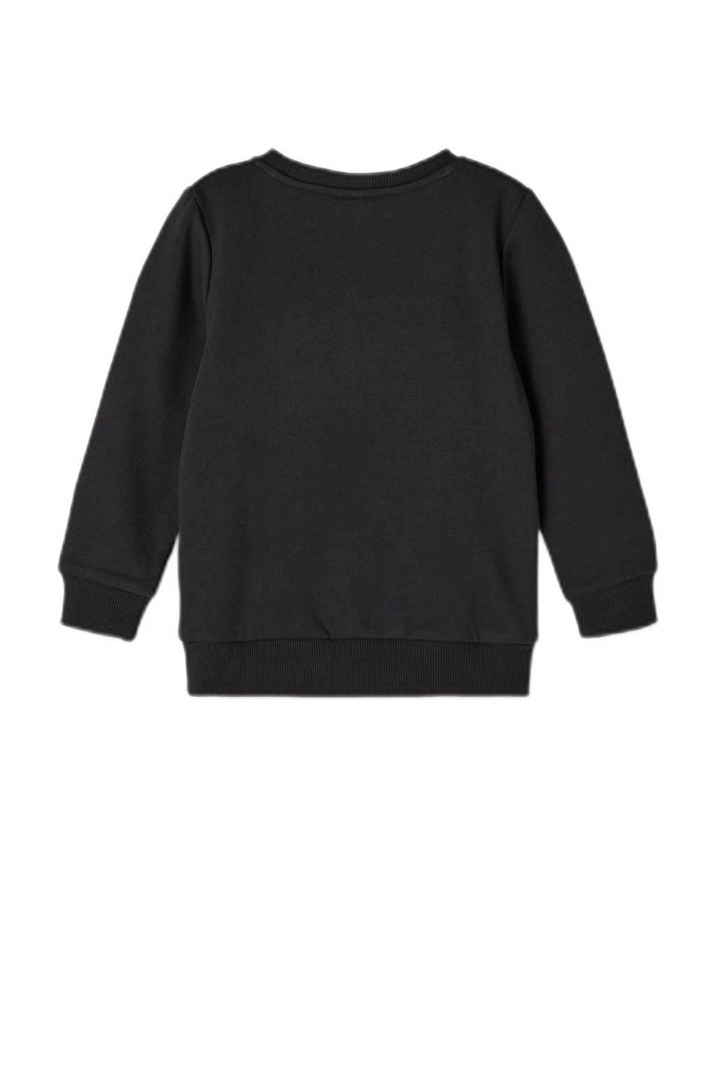 NAME IT MINI sweater NMMVIMO zwart, Zwart