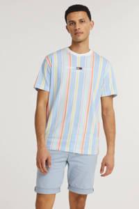 Tommy Jeans gestreept T-shirt Stripe 1 van biologisch katoen lichtblauw, Lichtblauw