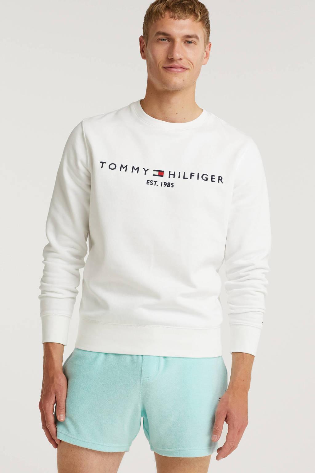 Tommy Jeans regular fit short Toweling met biologisch katoen aqua, Aqua