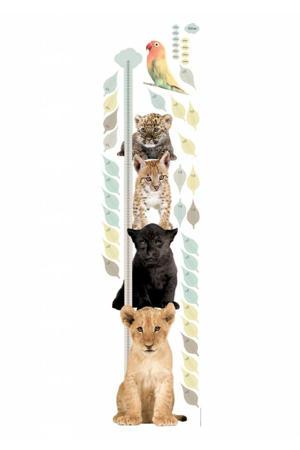 muursticker Safari Friends (set van 5)  (40x150 cm)
