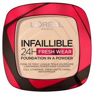 L'Oréal Paris - Infaillible 24H Fresh Wear Foundation in a Powder - 20 Ivory - Foundation en poeder in één - 8gr