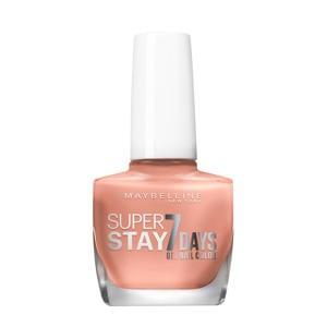 Maybelline New York - SuperStay 7 Days Nagellak - 930 Bare it all - Nude - Glanzende Nagellak - 10 ml