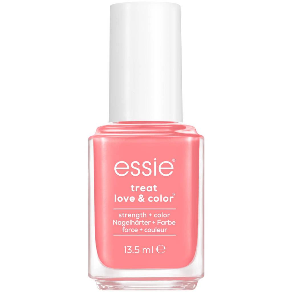 Essie essie - TREAT LOVE & COLOR™ - 161 take 10 - oranje - nagelverharder met calcium & camellia-extract - 13,5 ml