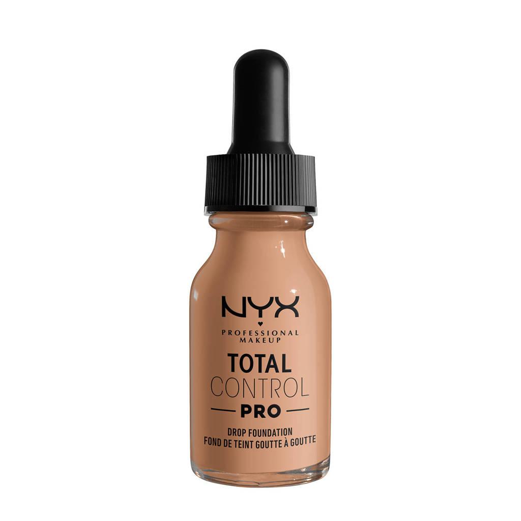 NYX Professional Makeup NYX Professional Makeup Total Control Pro Drop Foundation  -  TCPDF10.5 Medium Buff - Foundation