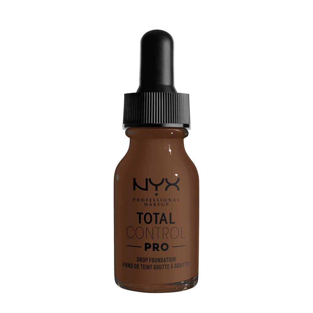 NYX Professional Makeup NYX Professional Makeup Total Control Pro Drop Foundation  -  TCPDF22 Deep - Foundation