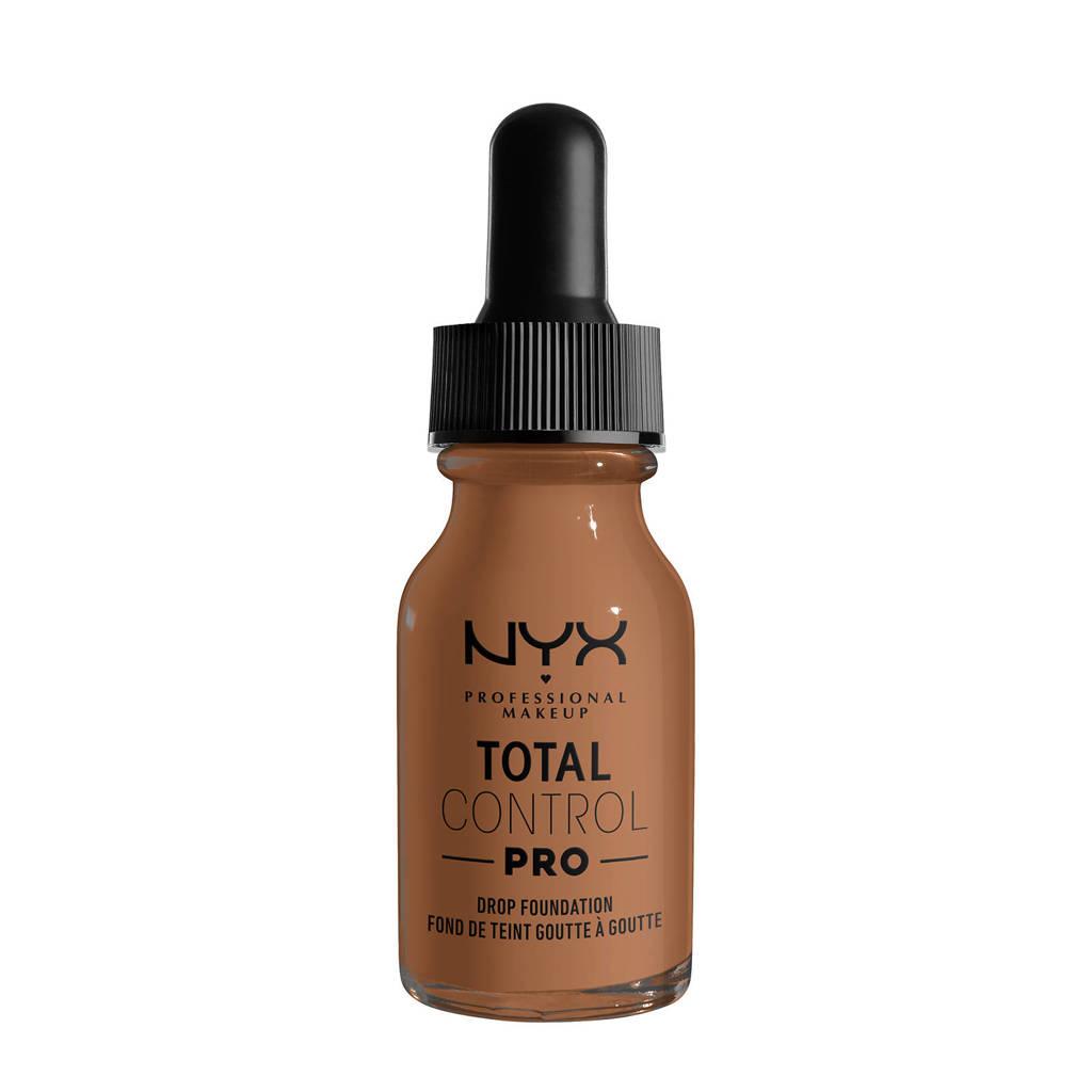 NYX Professional Makeup NYX Professional Makeup Total Control Pro Drop Foundation  -  TCPDF16 Mahogany - Foundation